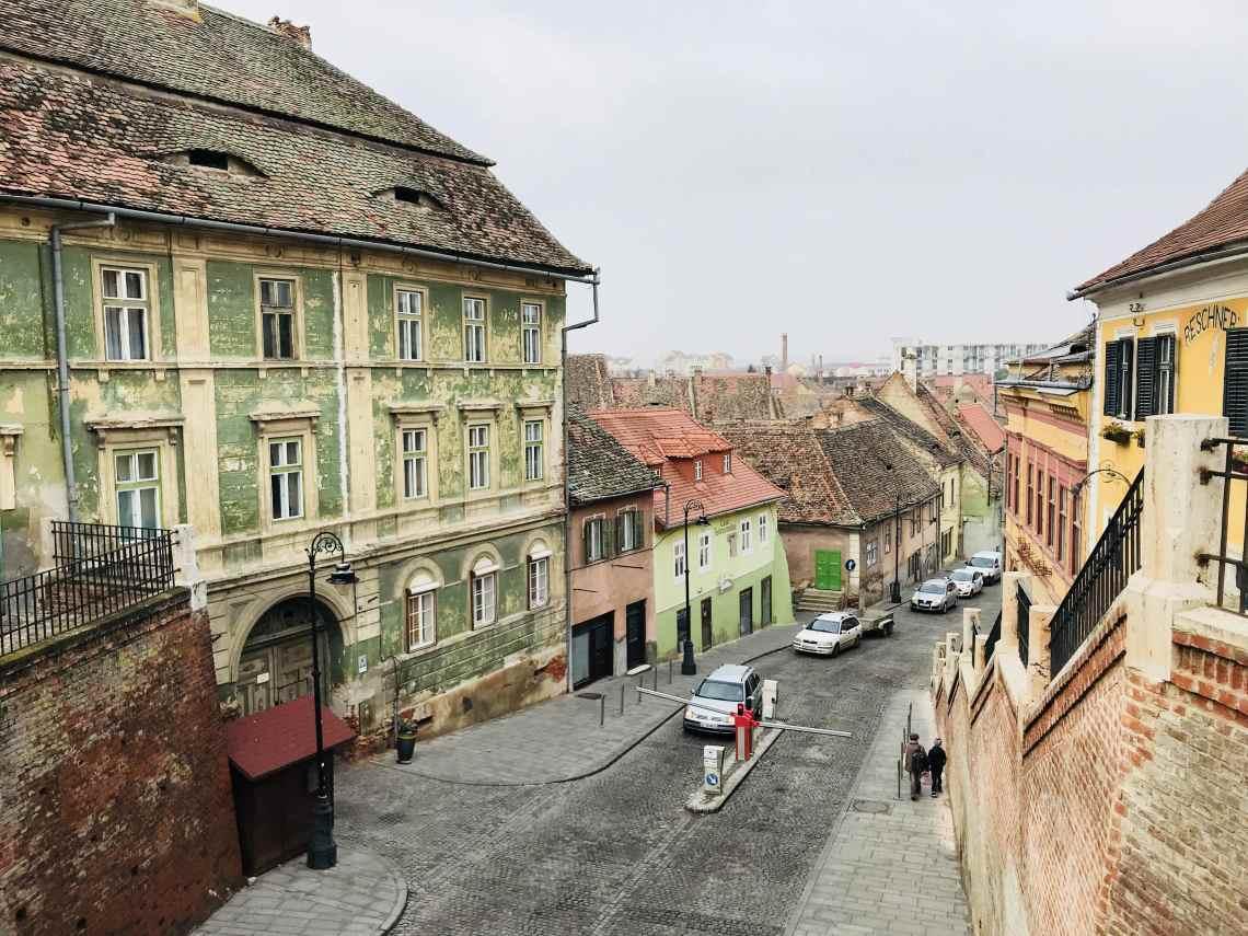 Sibiu Tipps - Blick von der Lügenbrücke