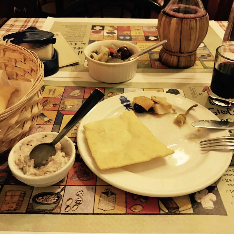 Speisen in der Osteria al 15