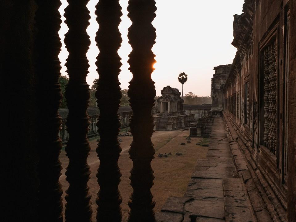 Angkor Wat in der Dämmerung