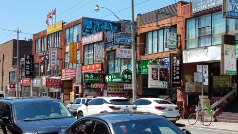 Toronto has one of the largest Chinatowns in the world