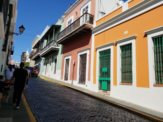 Old San Juan is the largest of the old towns in the Caribbean