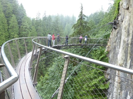 Capilano Bridge Park is amazing tourist site