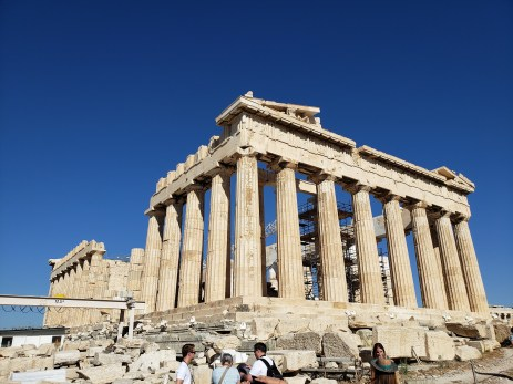 Parthenon ruins in Athens are amazing