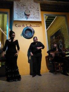 Spettacolo di flamenca a la Casa de la Memoria di Siviglia