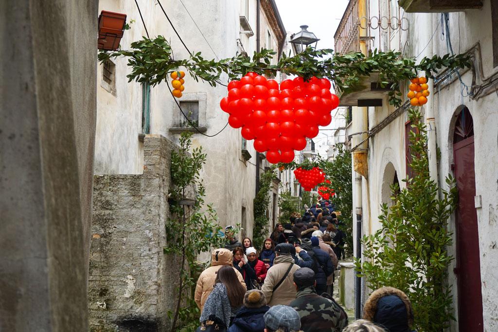 La festa di San Valentino a Vico del Gargano
