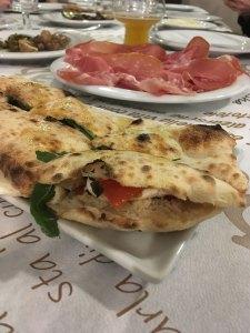 La paposcia della Pizzeria Le Macine di Vico del Gargano
