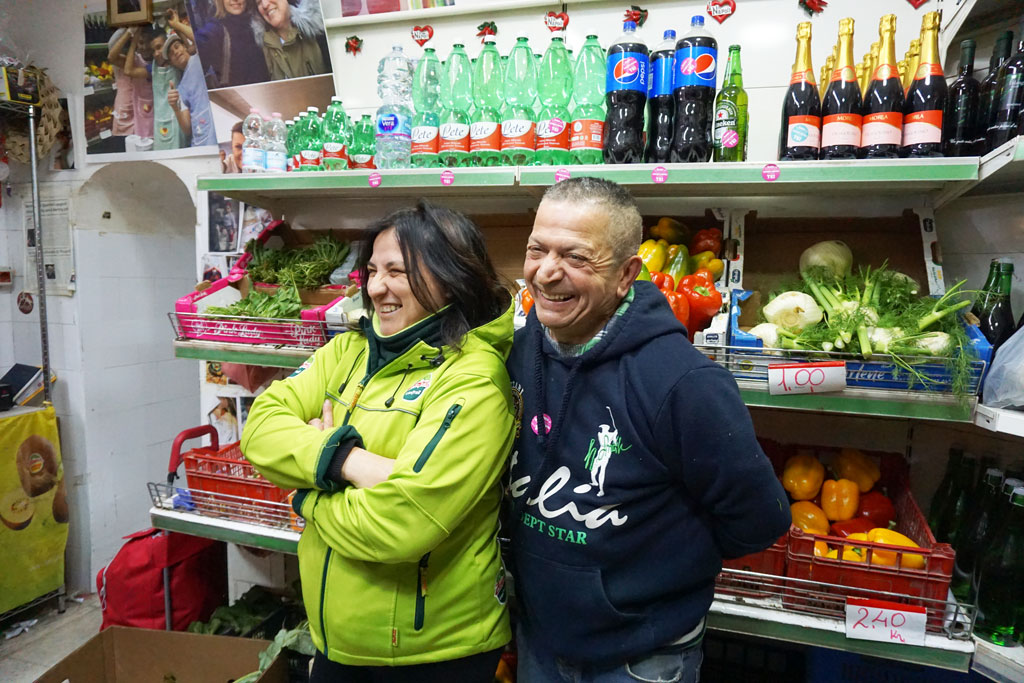Tina e Angelo Scognamiglio Napoli