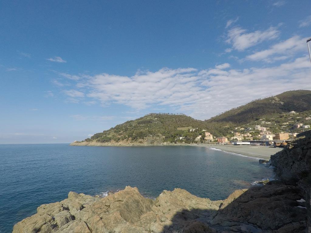 spiaggia Bonassola