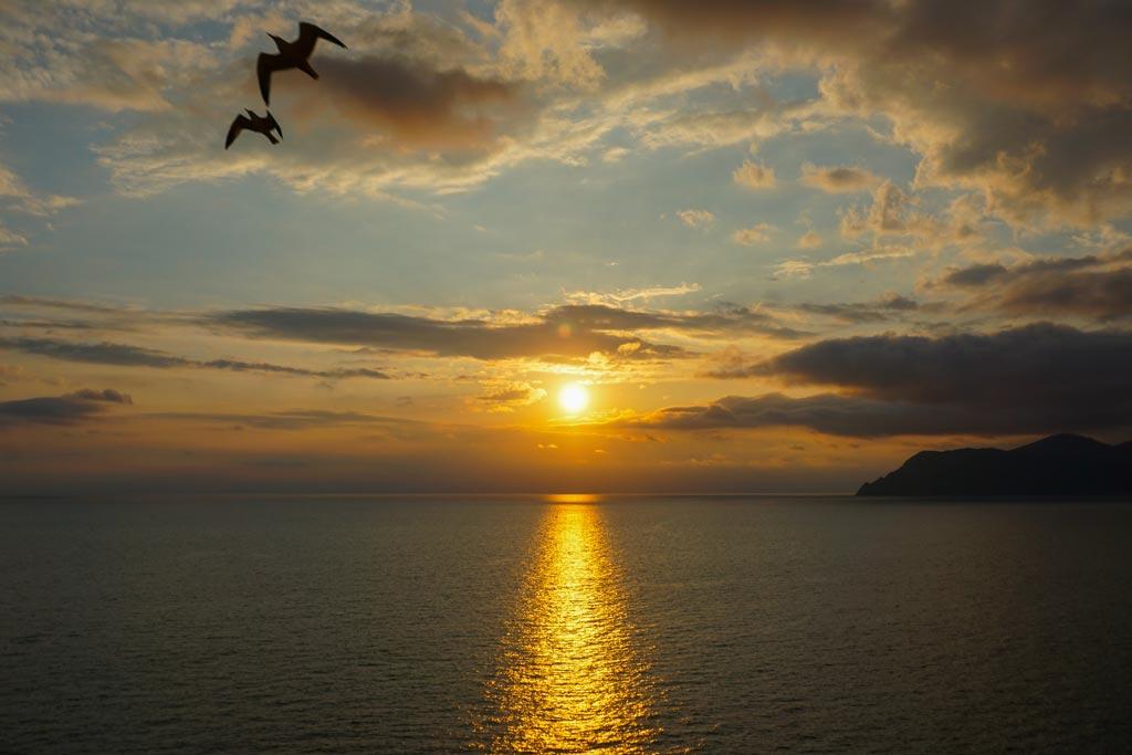 Manarola dove vedere il tramonto