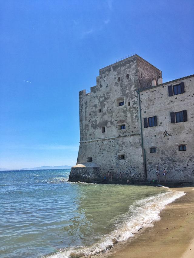 Spiaggia Torre Mozza Piombino