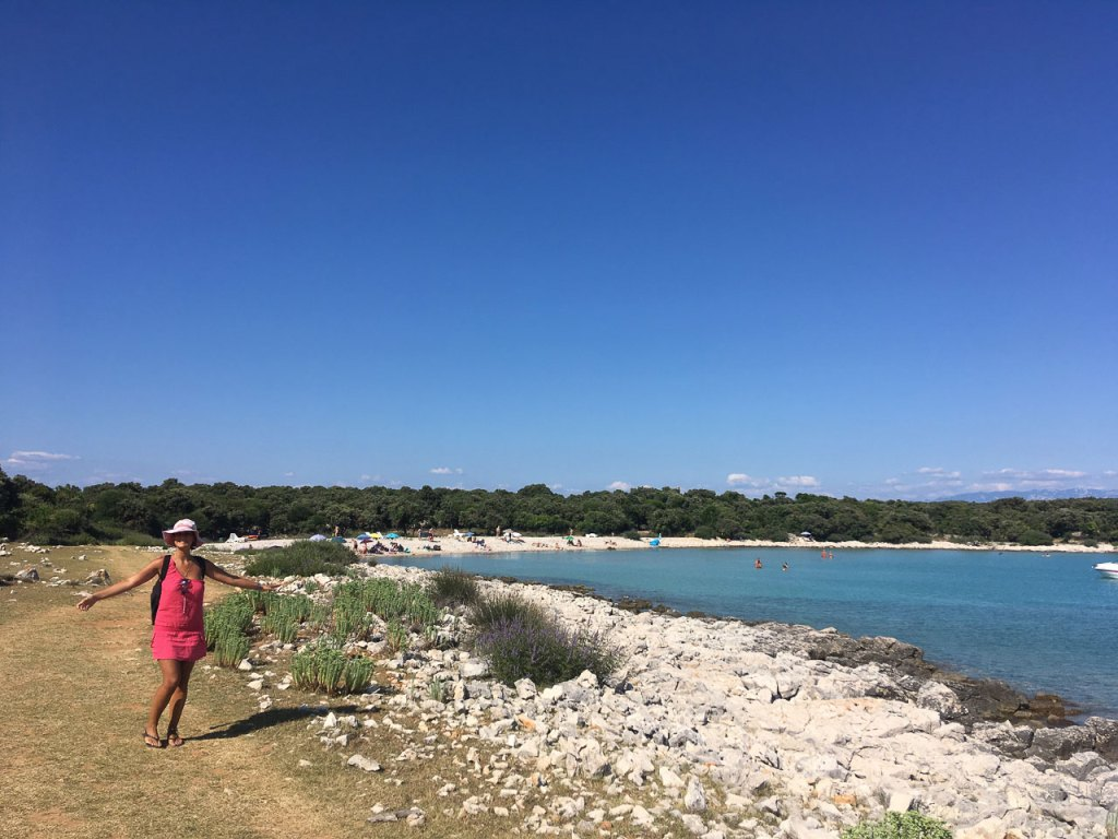 spiaggia dei 7 cancelli Cres