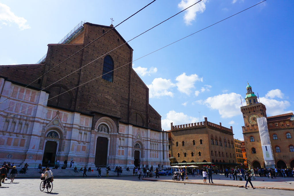 itinerario bologna