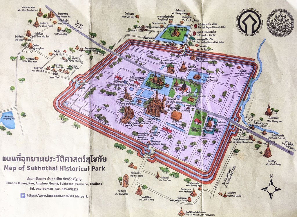 mappa sukhothai