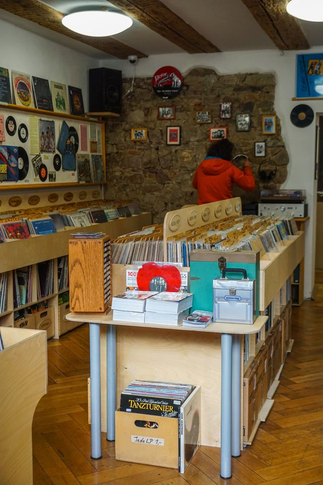 negozio dischi friburgo