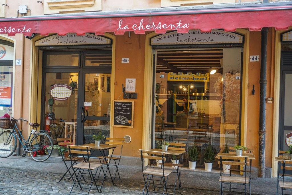 dove mangiare le crescentine a modena
