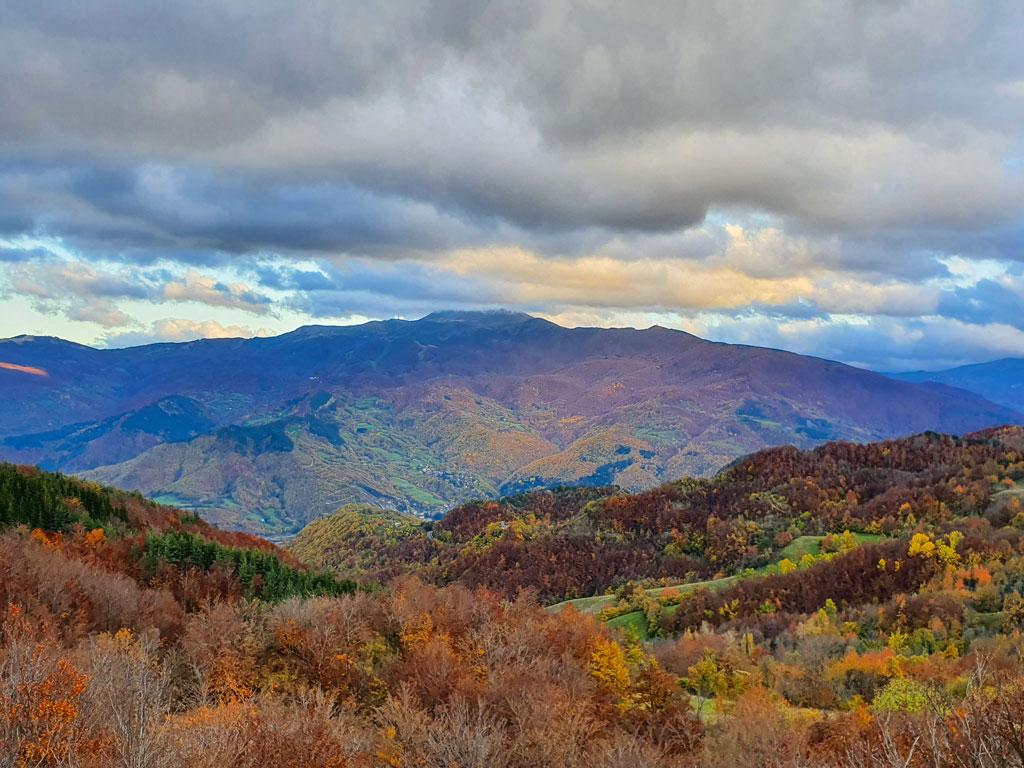 monte cimone autunno
