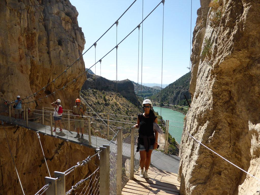 trekking caminito del rey andalusia