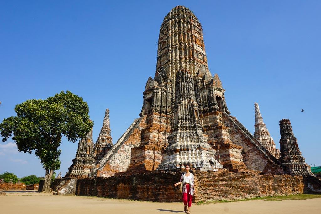 ayutthaya wat chaiwatthanaram