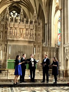 Untune the Sky Consort Bristol Cathedral