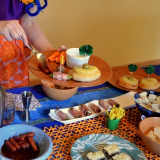 Dorking Out: 1960s Super Bowl Party