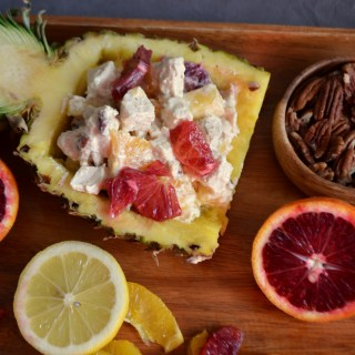 Pineapple Citrus Chicken Salad