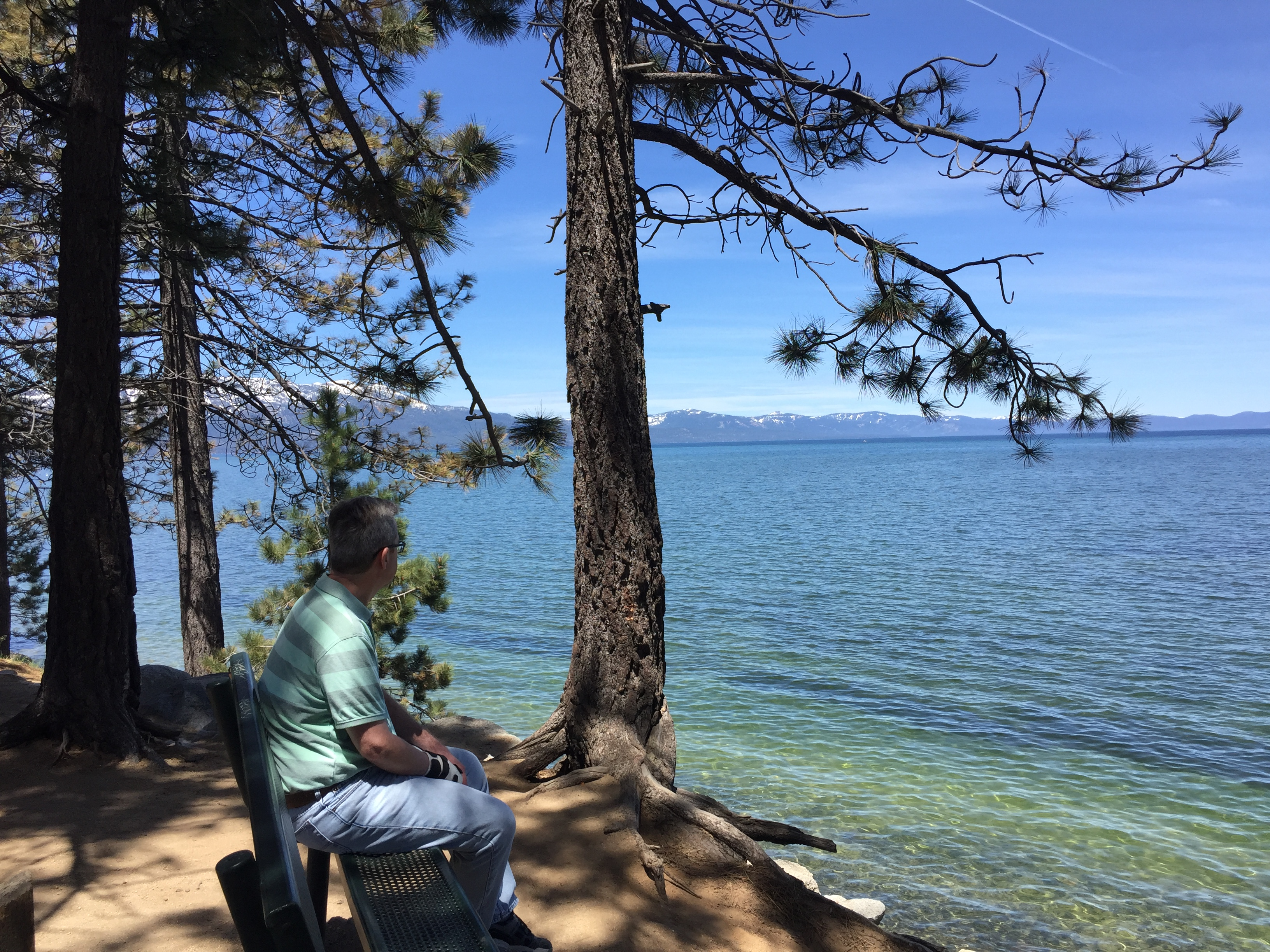 car-free lake tahoe