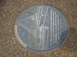 Day 5 - Information plaque - 'past present and future' in the Olympic Park