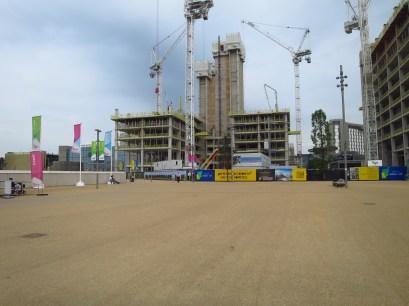 Day 5 - Construction of the Stratford City International Quarter