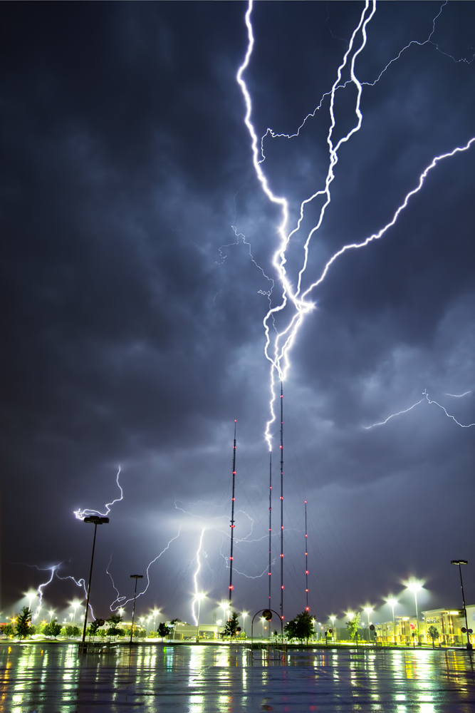 TV Tower Lightning