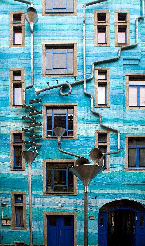 Kunsthofpassage Funnel Wall Unusual Places