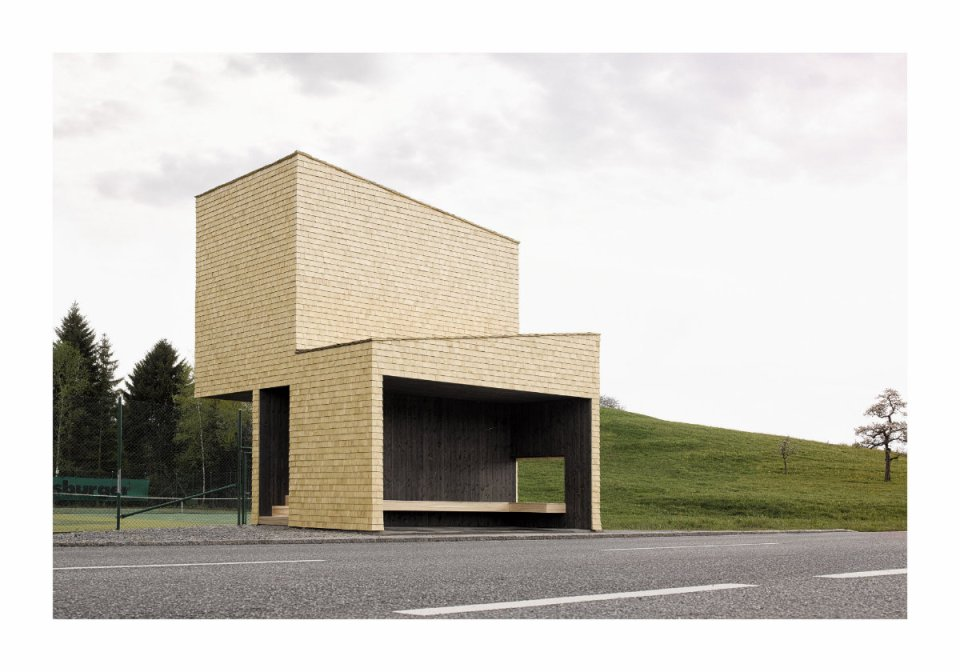 """RintalaEggertsson Architects, Norway: """"The structure becomes the sum of these viewing activities, a gathering and organization of paths of attention."""" (Photo: Adolf Bereuter/BUS:STOP Krumbach)"""