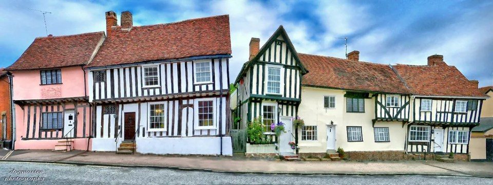 Church Street, Lavenham Image by Bruce Hatton/Flickr