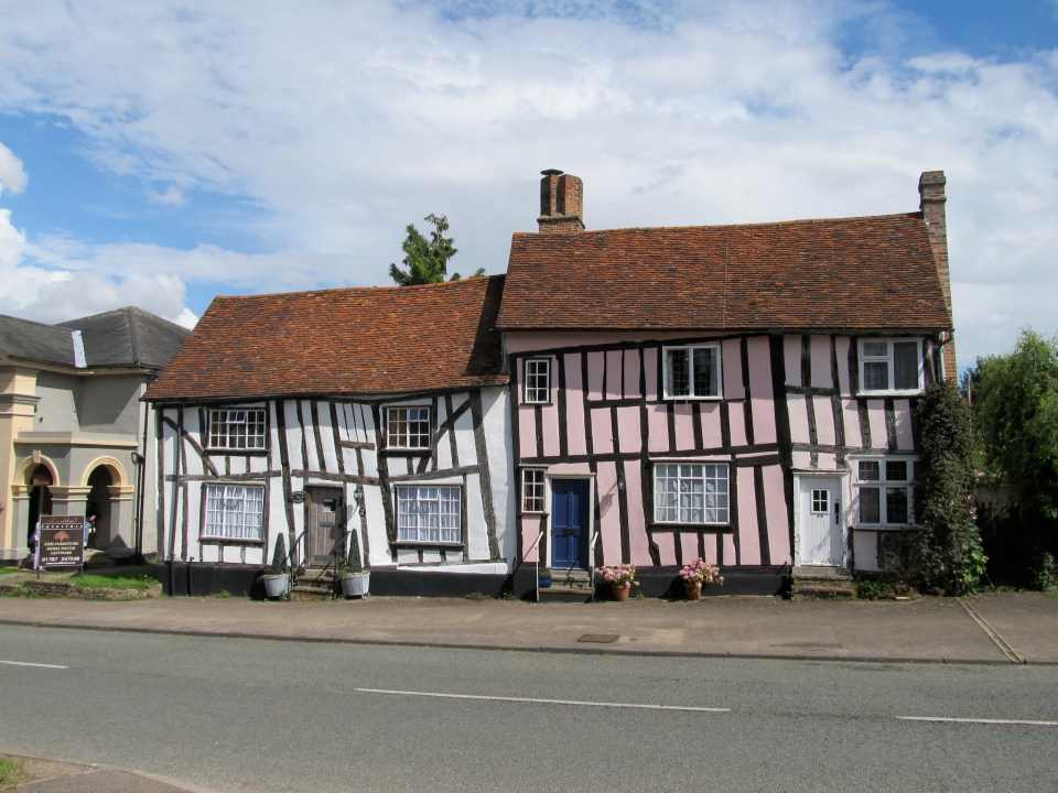 Slightly Crooked Houses in Lavenham Image by Banksfam/Flickr