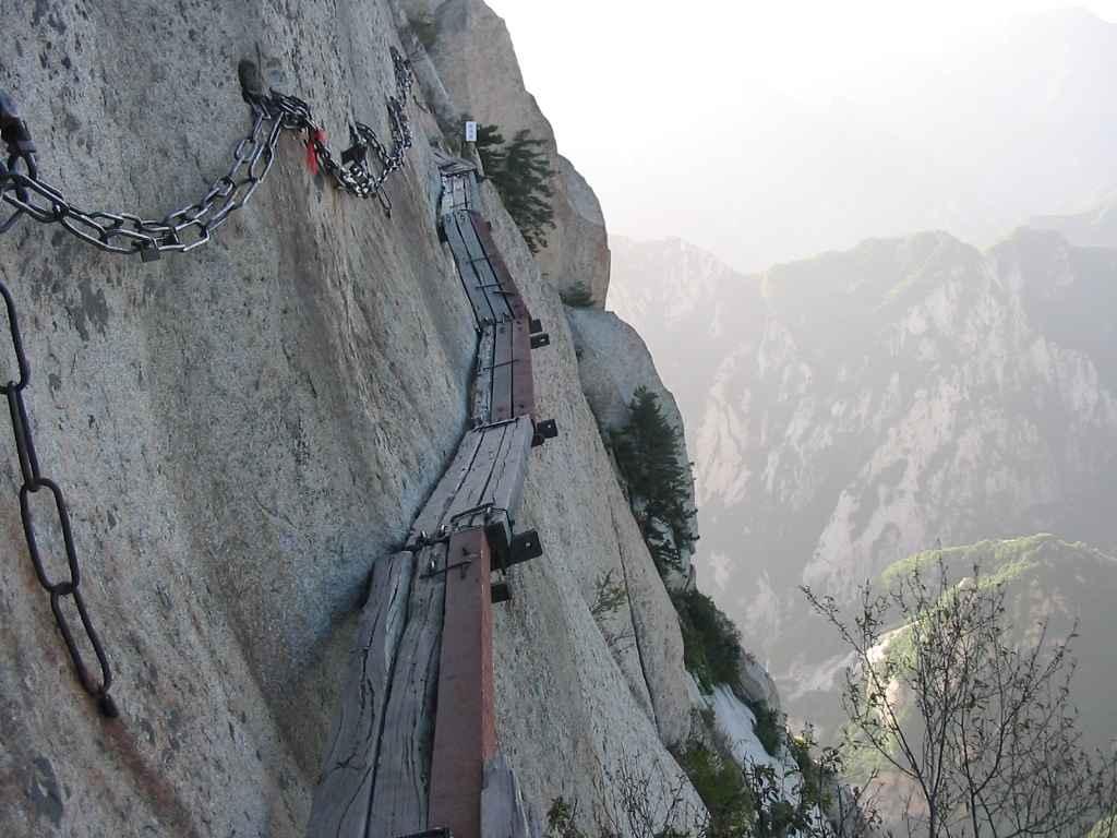 The Road to Heaven – Huashan Mountain - Unusual Places