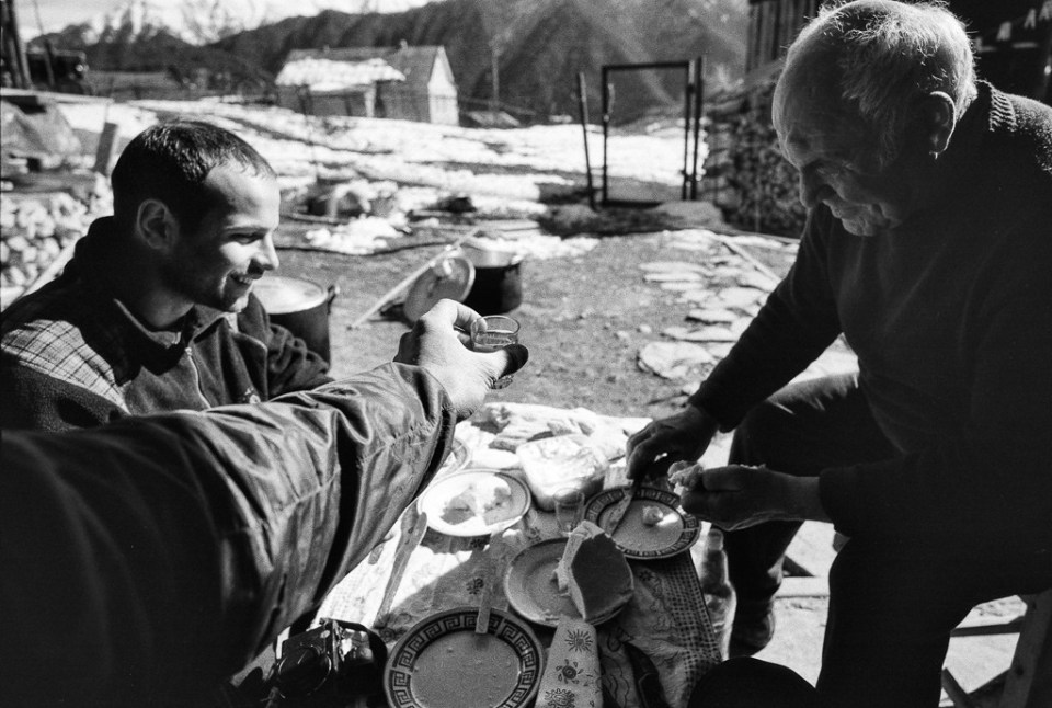 So this was the end of my journey through winterly Tusheti. We feasted on bread, fresh cheese, khinkali, drank volumes of chacha, toasted to each other, friendship, love, families, Tusheti and its future, the mountains, Georgia, and by the end we were feeling so remarkably well that we raised our glasses to the next trip, the next expedition, the greater, more glorious adventure. It all seemed quite definitely, probably, possible. Photo by S_Peter /Flickr