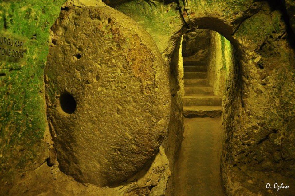 Derinkuyu underground city Photo by oozhan/Flickr