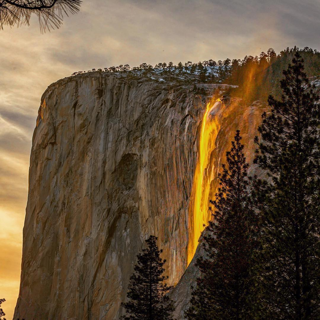 Quot Firefall Quot At Horsetail Waterfall In Yosemite National
