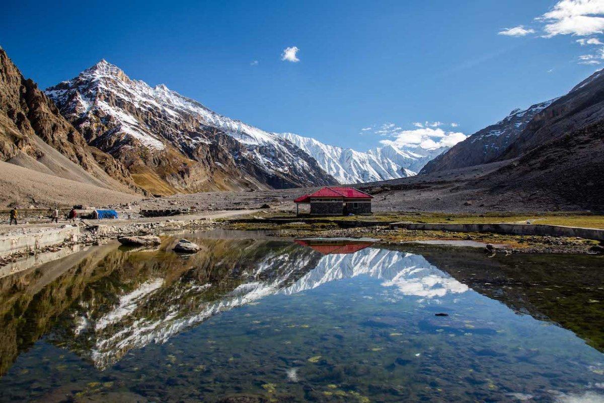 Natural Beauty Of Kashmir Valley