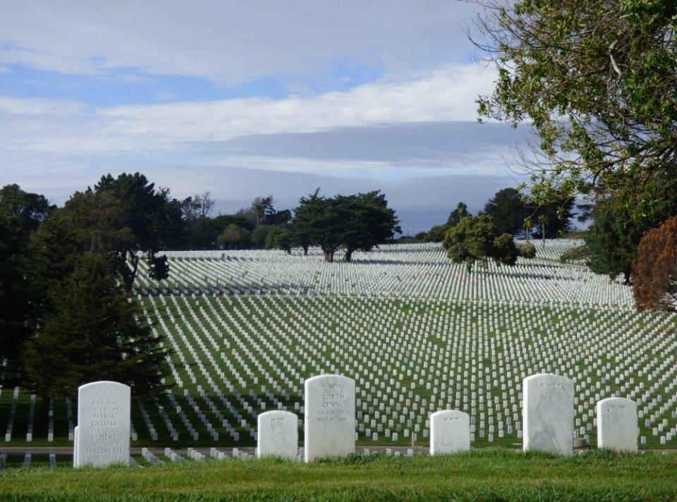 Cemetery, Colma, California