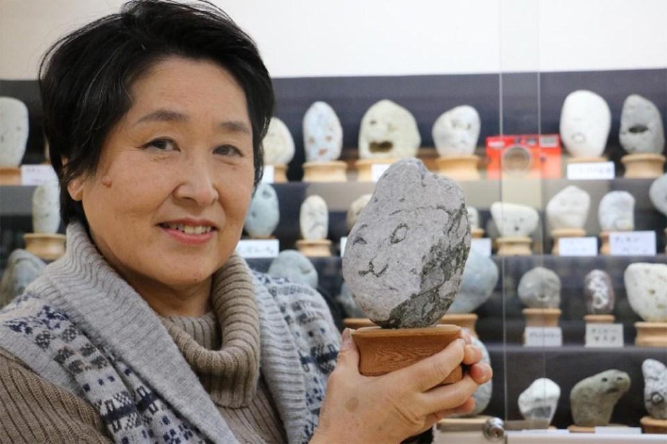 Head curator of Chinsekikan museum in Chichibu, Japan
