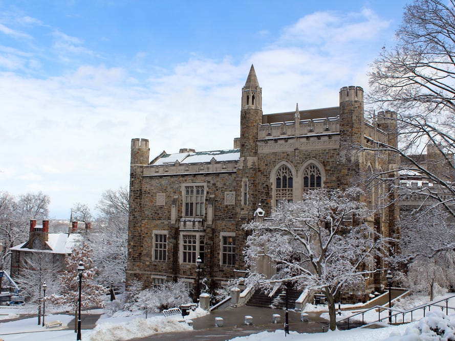 Lehigh University in Bethlehem, Pennsylvania