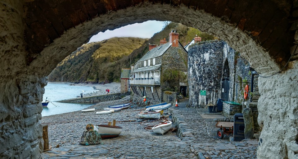 Devon - Clovelly Harbor