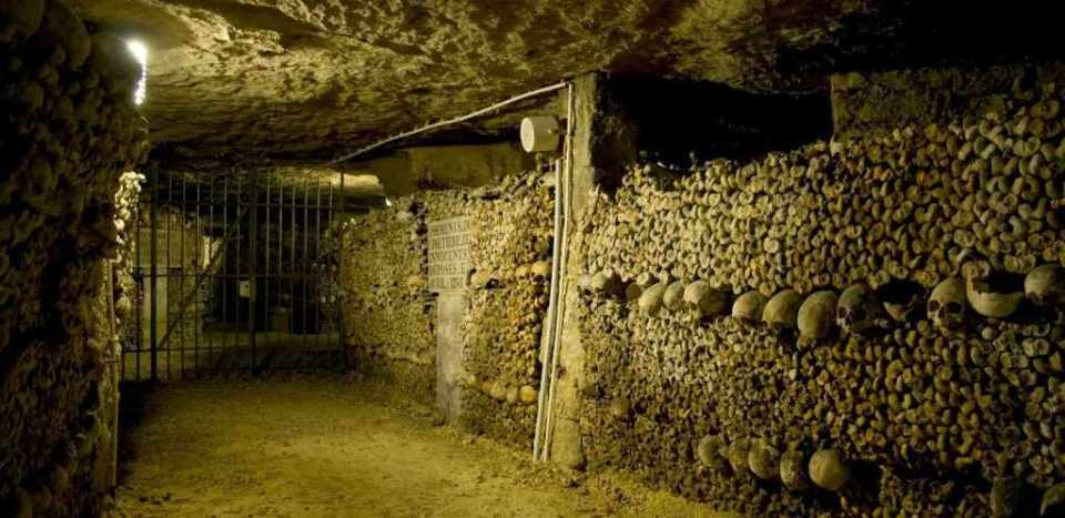 Catacombs, Paris, France