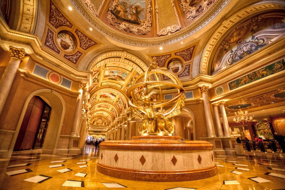 Venetian gold Las Vegas