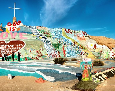 Salvation Mountain Panoramic