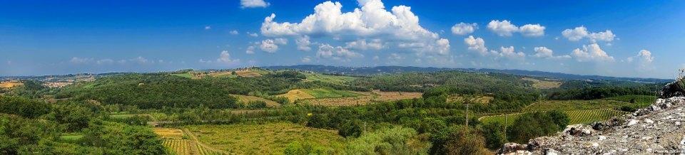 View from Monteriggioni