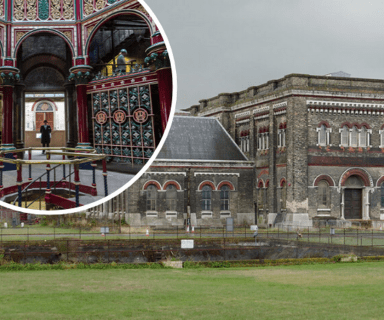 Exterior of Crossness Pumping Station