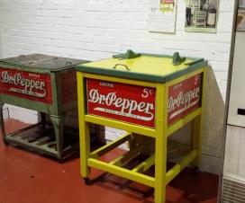 Dr Pepper Museum Old Fridge