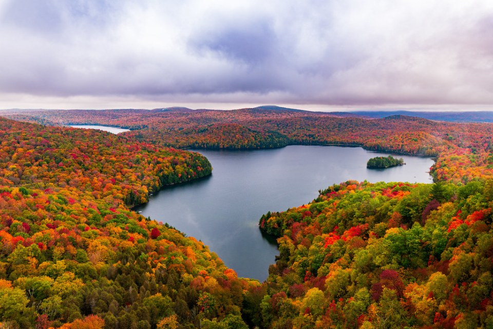 Fall in the Northeast Kingdom - Vermont