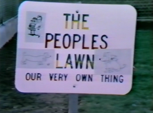 The Peoples Lawn quickly became known as People's Park